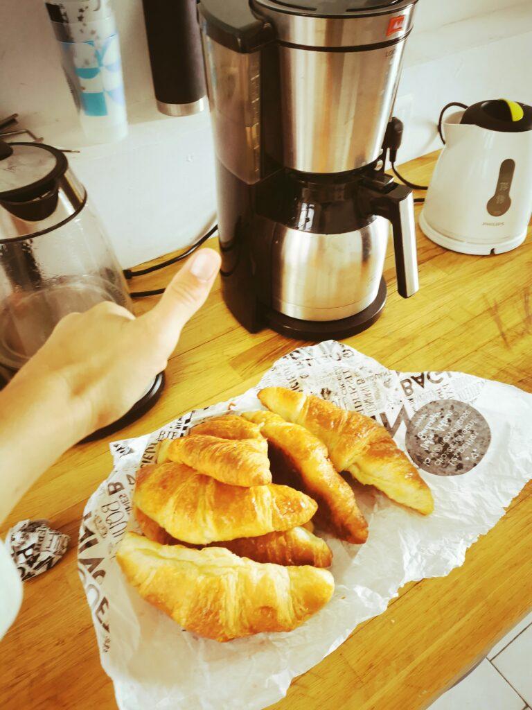 L\'heure des croissants